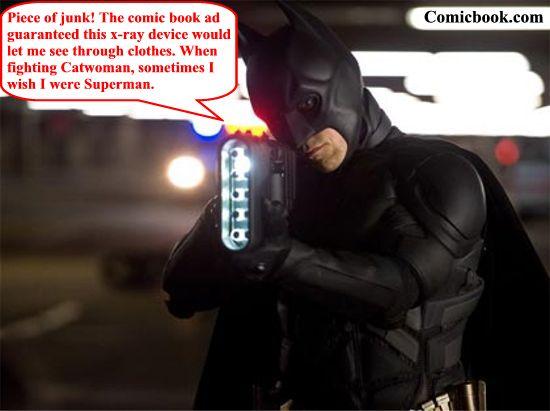 The Dark Knight Rises X-ray device