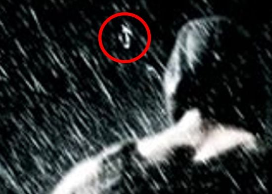 The Dark Knight Rises Hidden face image