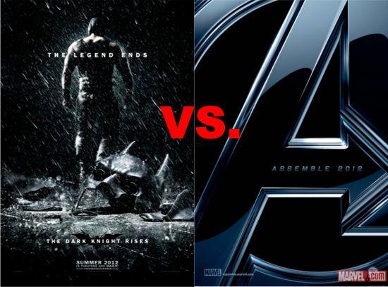 The Dark Knight Rises Vs. The Avengers