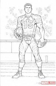 Tim Tebow Marvel Comics Todd Nauck
