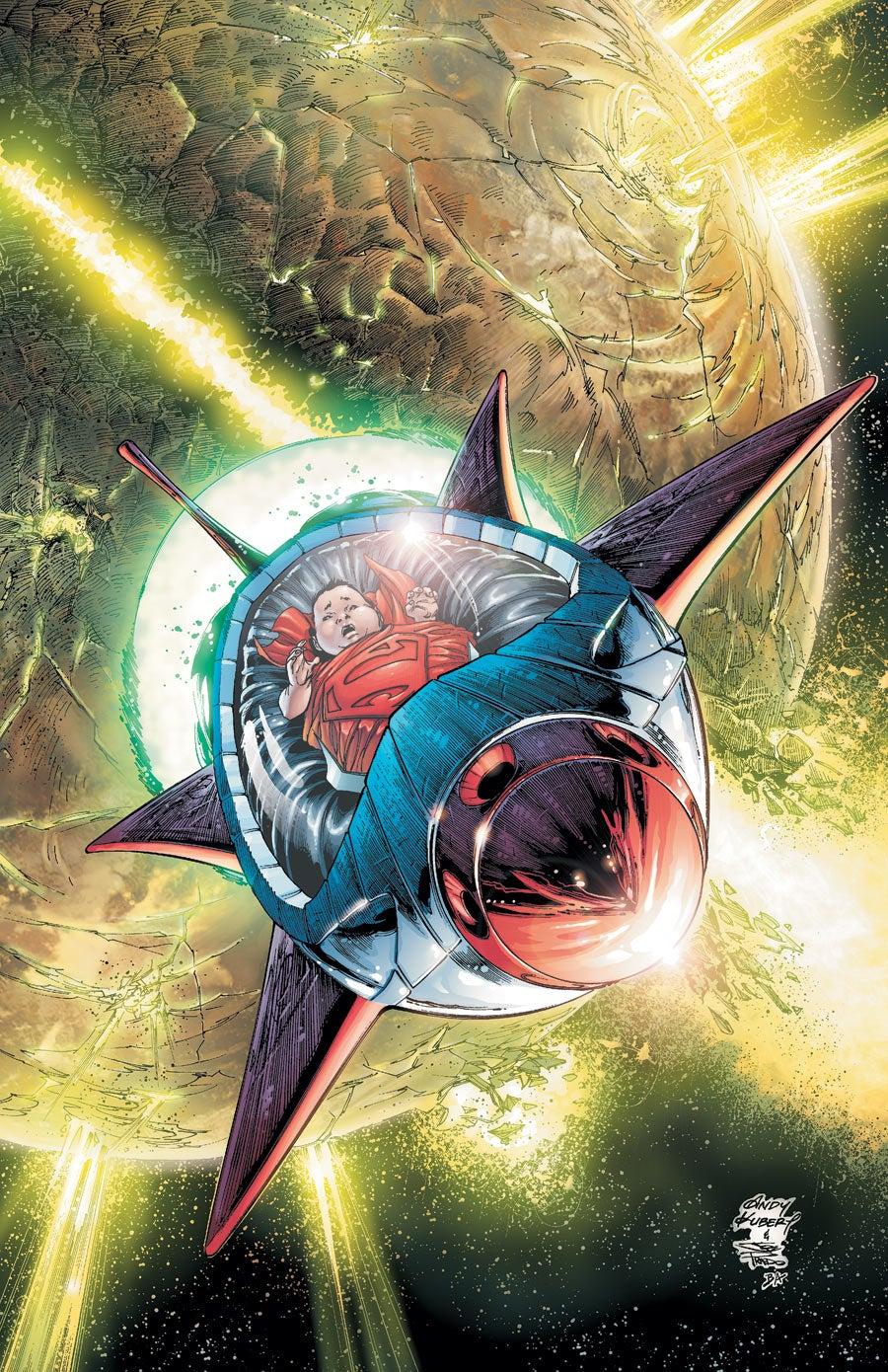 Action Comics #5 Superman Andy Kubert