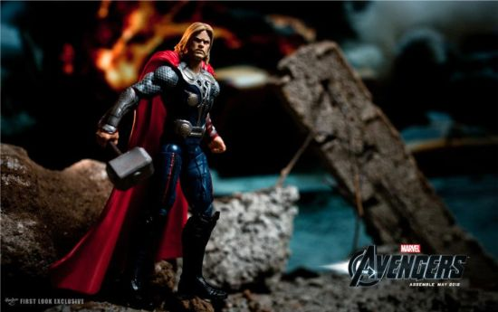 Avengers movie Thor action figure