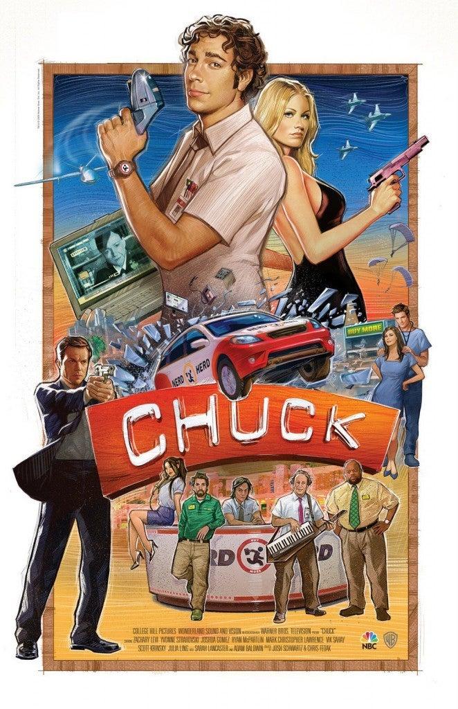 Chuck Arrives on Netflix
