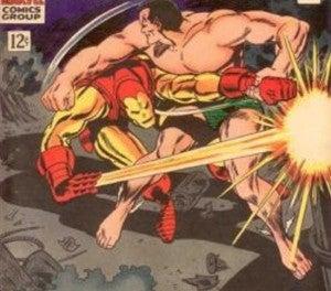 Iron Man vs Sub-Mariner