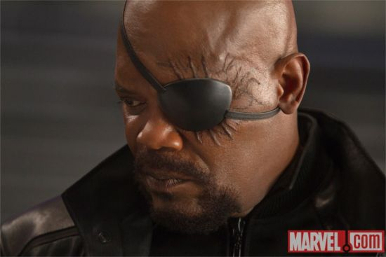 Nick Fury In The Avengers