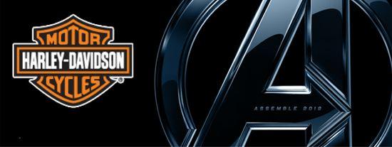 The Avengers Harley Davidson