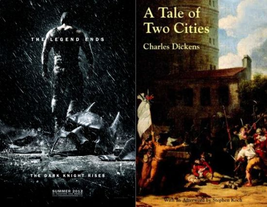 The Dark Knight Rises A Tale Of Two Cities