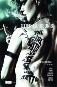 The Girl With The Dragon Tattoo comic