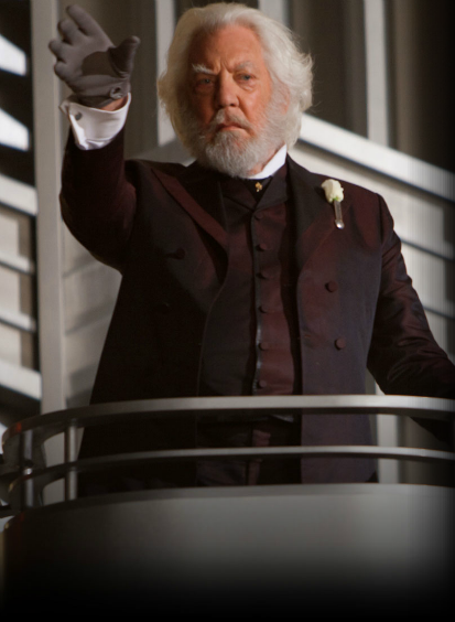 President Snow (Donald Sutherland)