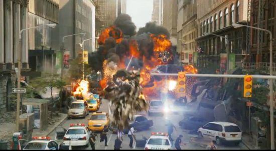Avengers commercial aliens attack