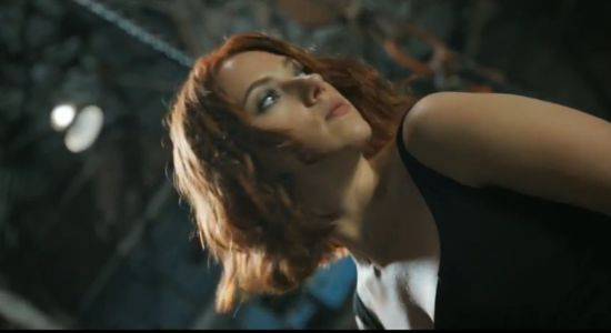 Avengers commercial Black Widow