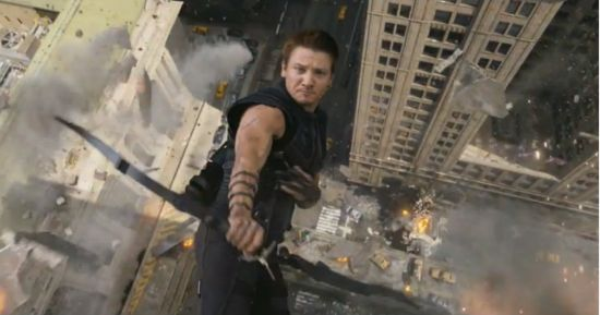 Avengers Hawkeye's Moment