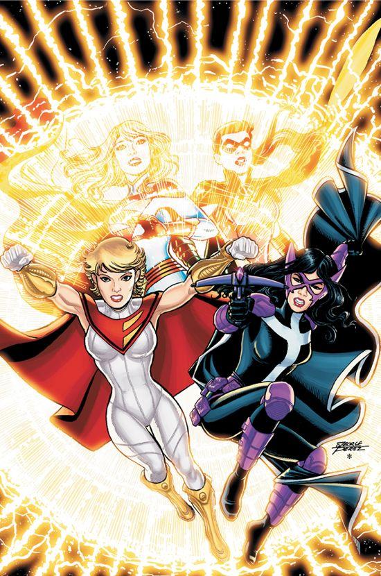 Power Girl New Costume