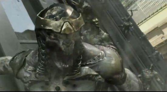 Avengers Aliens face closeup