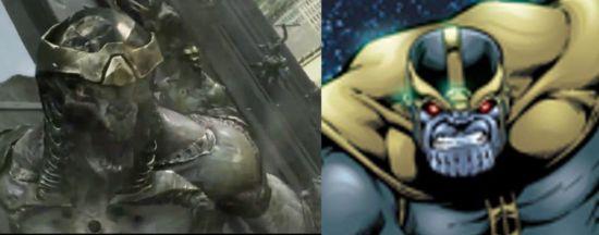 Avengers Aliens Thanos