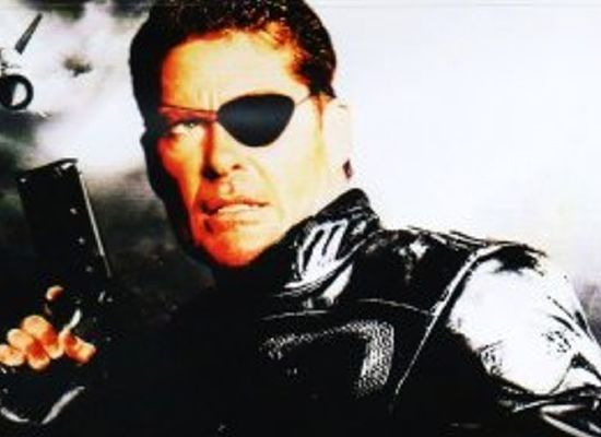 Avengers Hasselhoff as Nick Fury