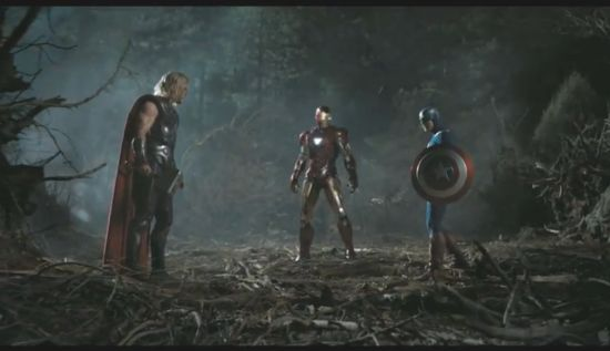 Avengers In The Woods