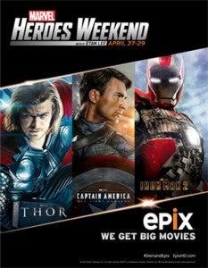 EPIX Marvel Heroes Weekend