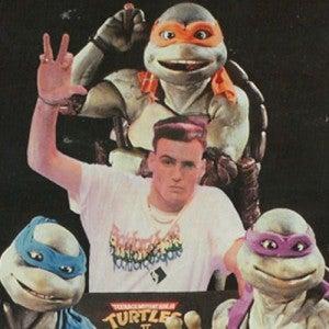 Vanilla Ice Teenage Mutant Ninja Turtles