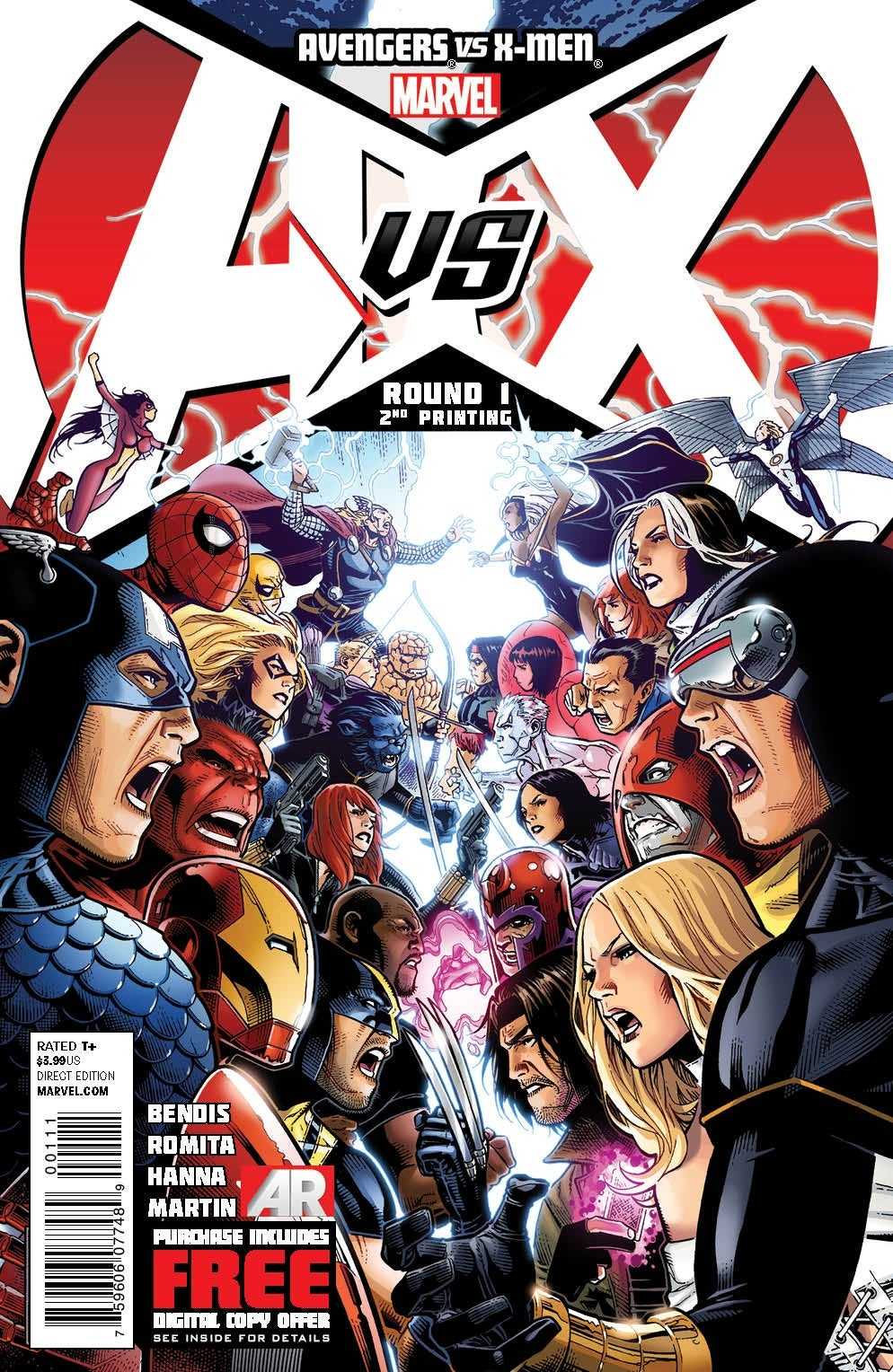 AvengersVSXMen_1_SecondPrintingCover