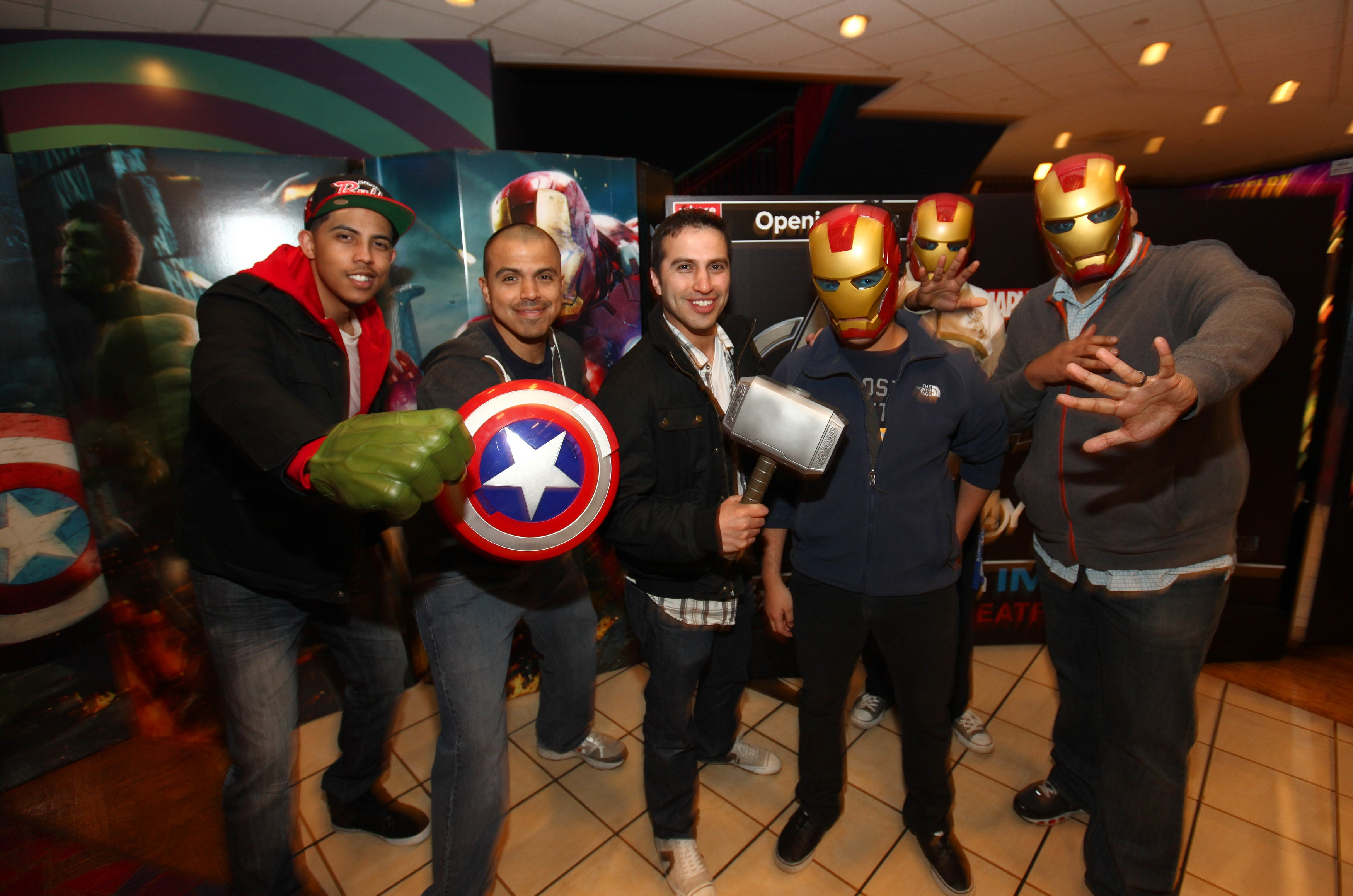 Local Avengers fans enjoy advance screening of ?Marvel?s The Avengers?
