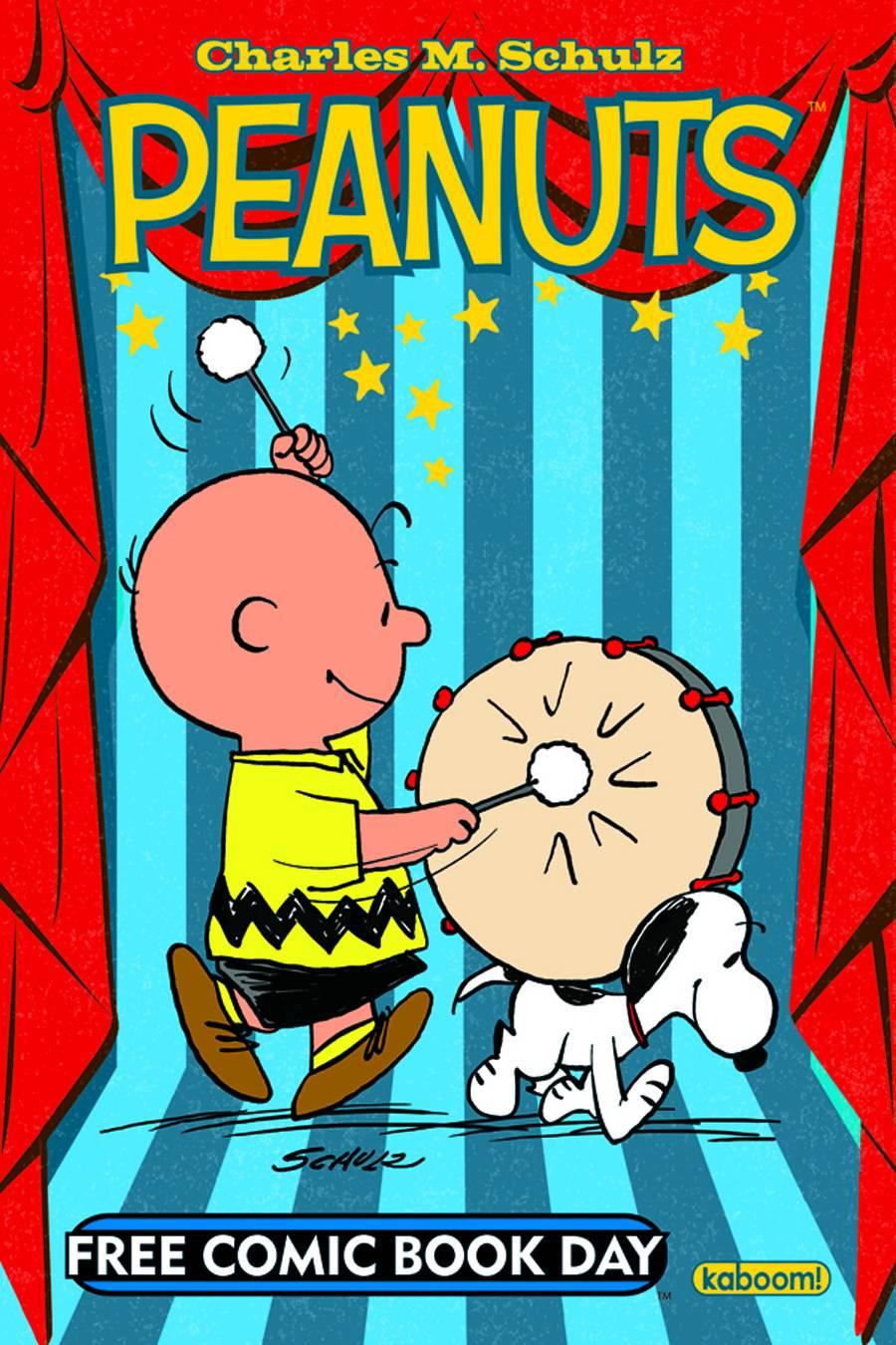 comics peanuts adventure comic books flipbook entertainment fcbd preview worst boom