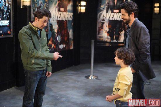 The Avengers meet General Hospital