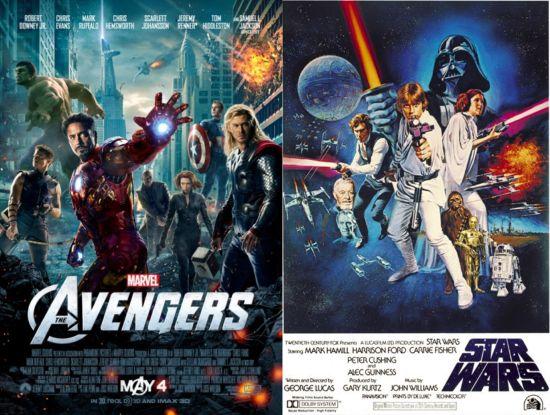 The Avengers Star Wars