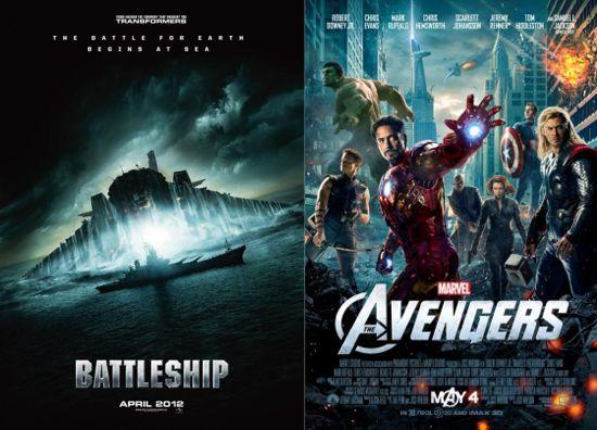 Battleship Vs. Avengers
