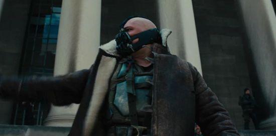 Dark Knight Rises smaller Bane