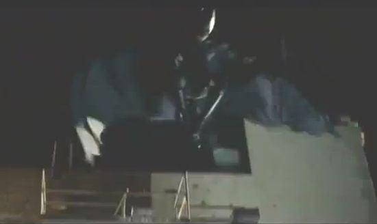 Dark Knight Rises Batman Jumping