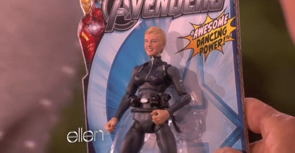 The Avengers: Ellen DeGeneres: Agent of S.H.I.E.L.D.