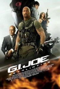 GI Joe Retaliation poster