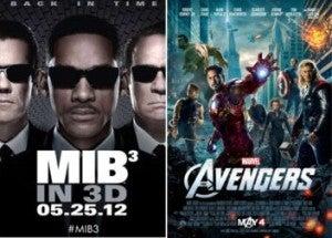Men In Black 3 Vs. Avengers