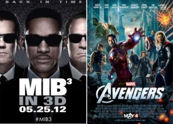 Men In Black 3 Vs. Avengers
