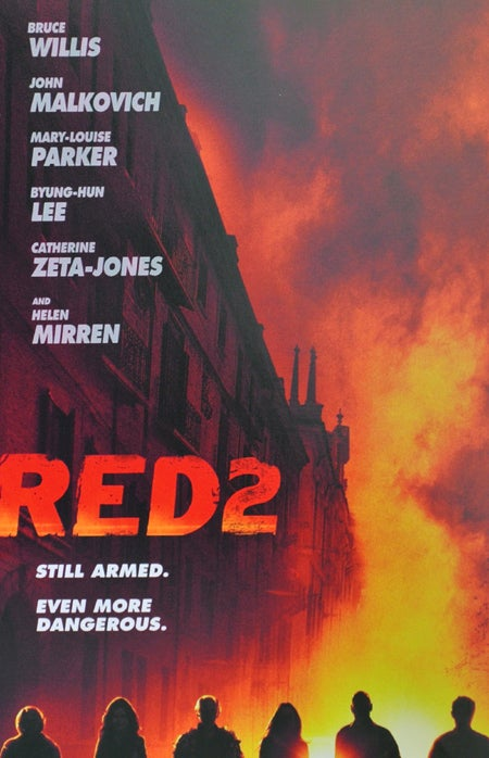 Red 2 Gets Its First Theatrical Poster