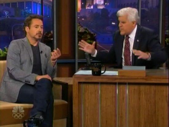 Robert Downey Jr. on Tonight Show