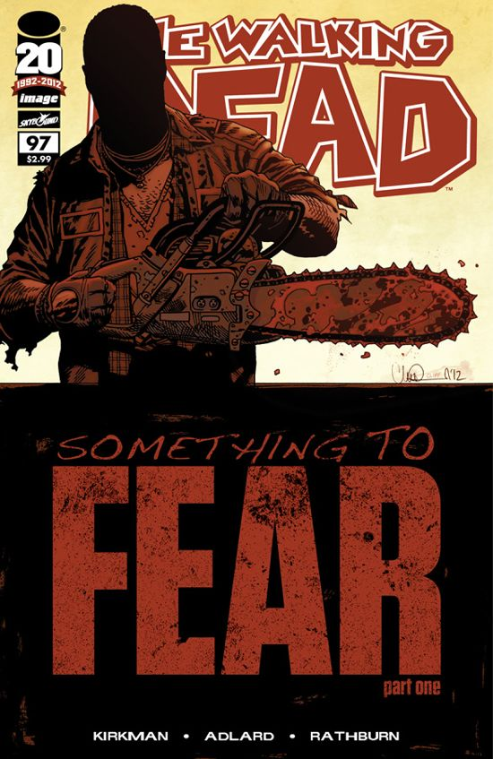 The Walking Dead #97 Cover