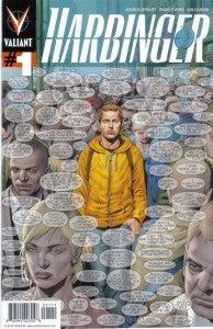 Harbringer #1 Cover