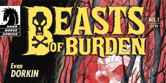 evan dorkin and jill thompson s beasts of burden gets a trailer too