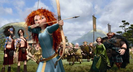 Disney-Pixar's Brave To Screen For U.S. Olympic Archers