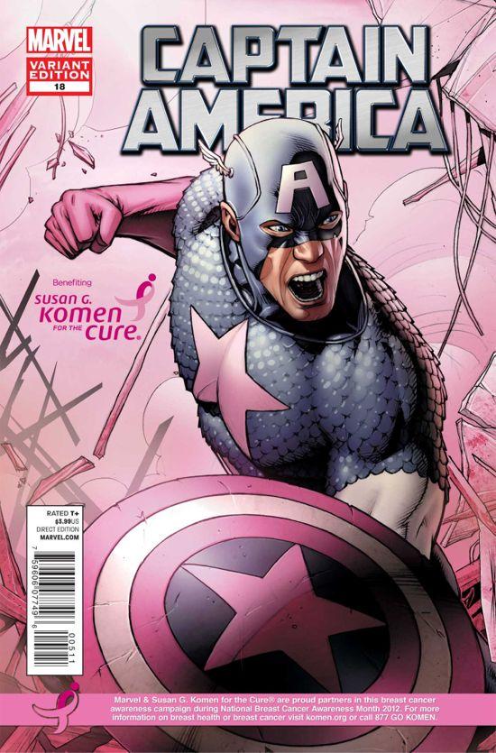 Captain America Breast Cancer Awareness