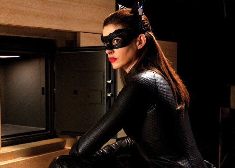 Anne Hathaway's Catwoman: Based on Comics and Old Movies