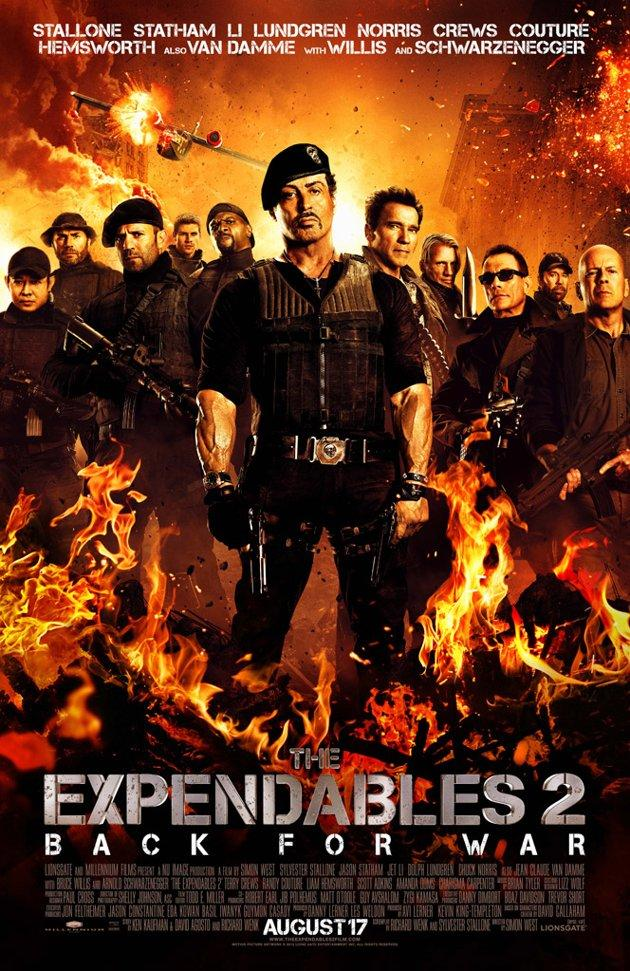 New Expendables 2 Poster Hits the Web