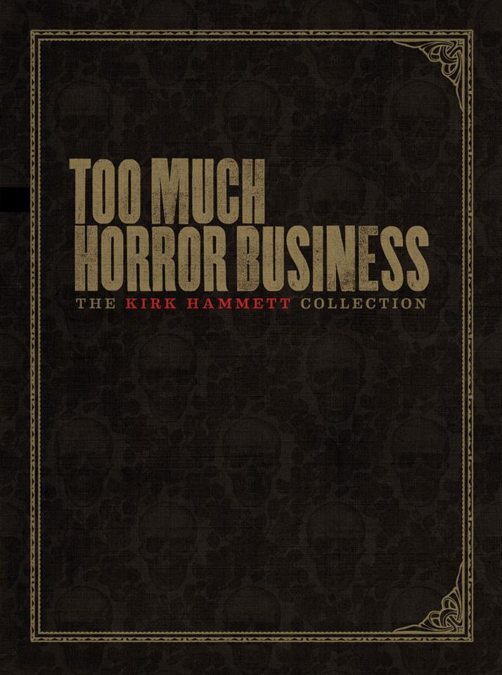 Metallica's Kirk Hammett To Write a Book on Horror Memorabilia