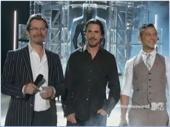 The Dark Knight Rises Christian Bale MTV Movie Awards