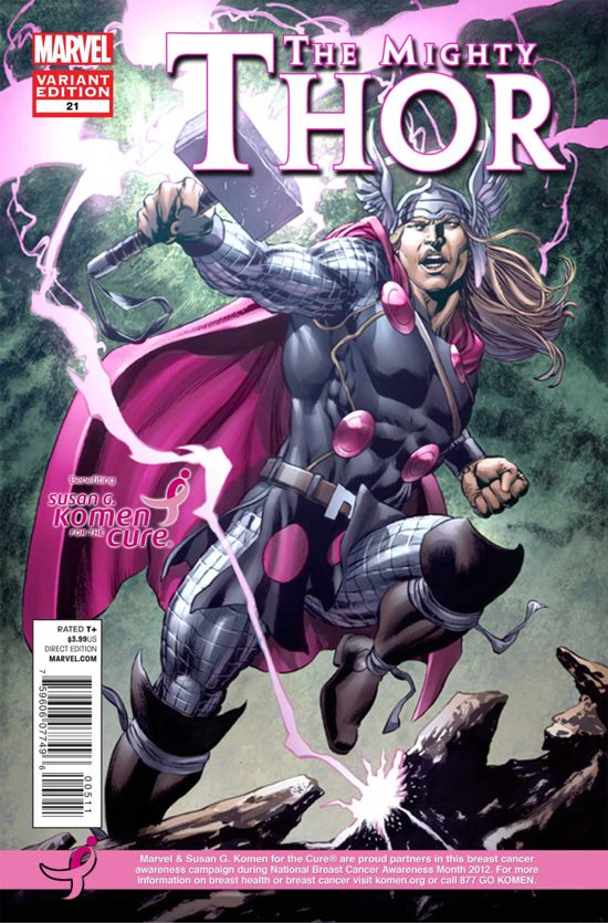 Thor Breast Cancer Awareness
