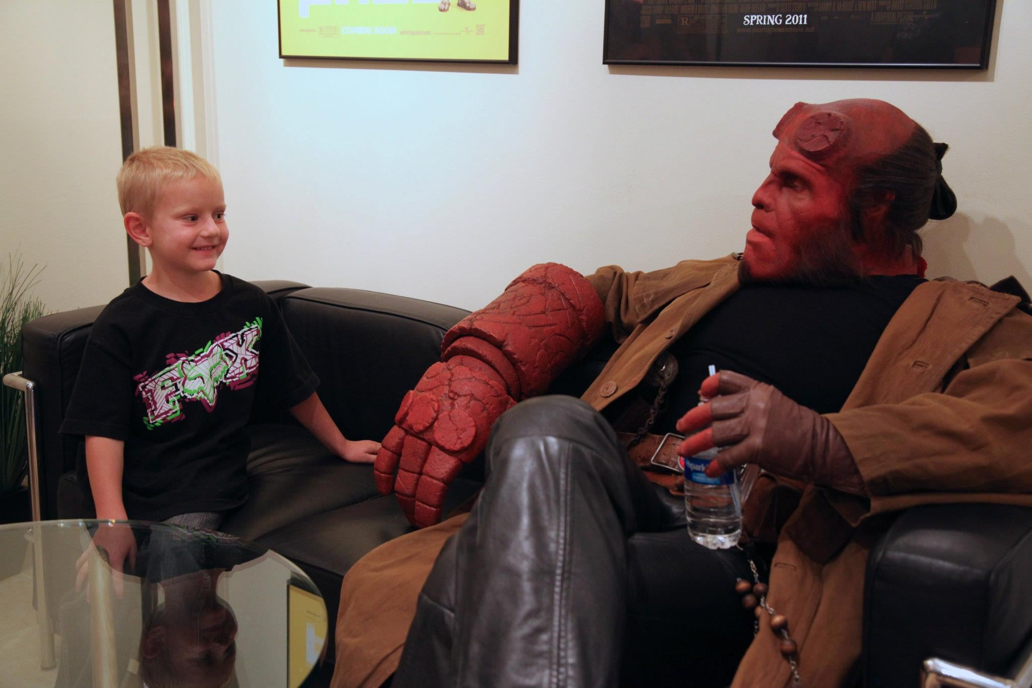 Hellboy and Make-A-Wish