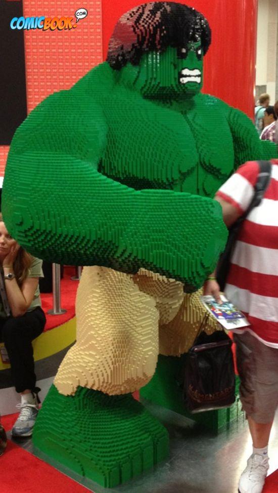 Comic-Con Lego Hulk