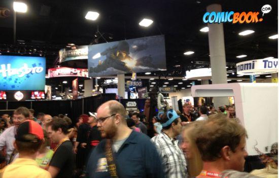 Comic-Con opening night